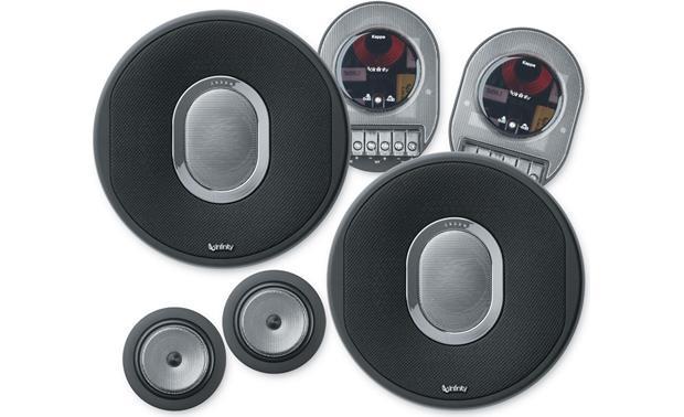 infinity kappa speakers. infinity kappa 60.9cs front speakers 1