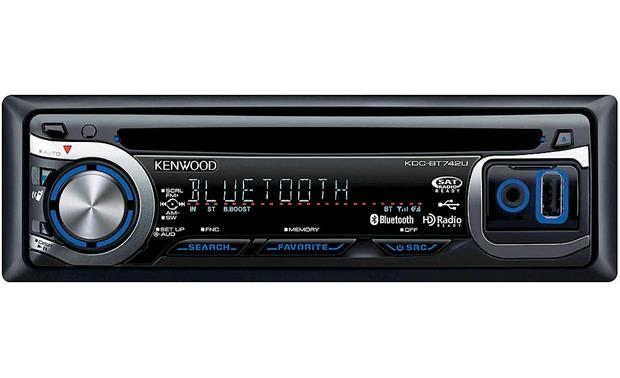 Kenwood KDC-BT742U Front