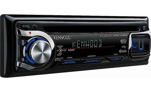 Kenwood Excelon KDC-X493 on