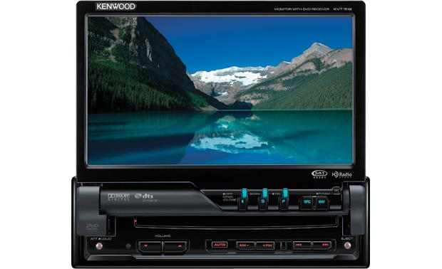 kenwood kvt 512 dvd receiver at crutchfield com Kenwood DNX Wire Diagram kenwood kvt 512 front