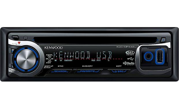 Kenwood KDC-MP442U Front