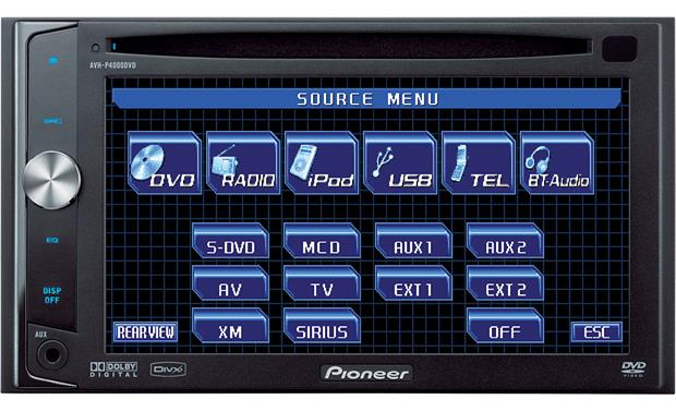 x130AVHP400 f_MT pioneer avh p4000dvd dvd receiver at crutchfield com  at bakdesigns.co