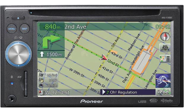 Pioneer AVIC-F700BT GPS Navigation Drivers Download