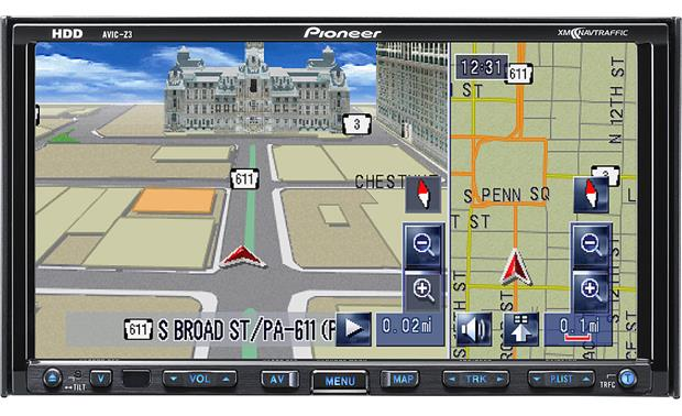 pioneer avic z3 navigation receiver at crutchfield com rh crutchfield com Pioneer AVIC- D3 Pioneer AVIC- Z2 Power Cable
