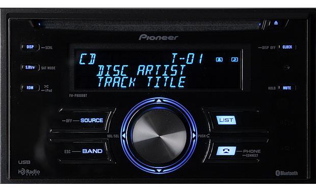 pioneer fh p8000bt cd receiver at crutchfield