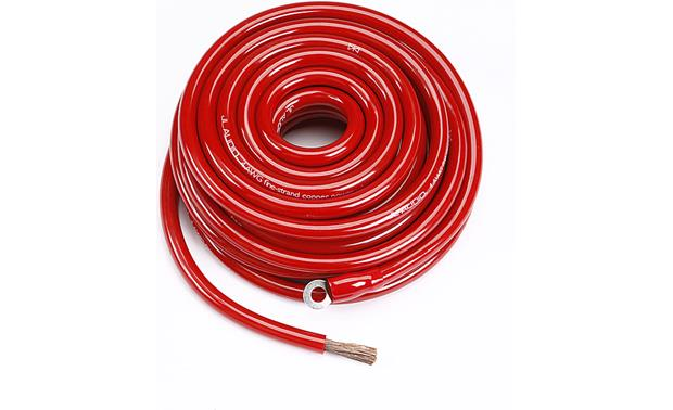 JL Audio 4-gauge Power Cable Red — 25 ft (model XA-REDPW4-25) at ...