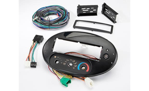 Scosche FD134030B Dash and Wiring Kit Front