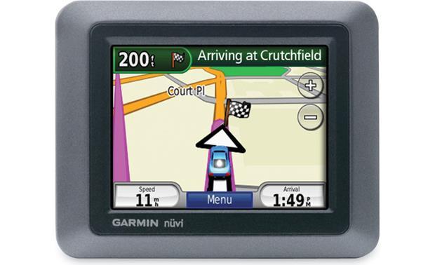 garmin nuvi 500 portable navigator with topographic maps at rh crutchfield com Garmin Nuvi Owners Manual 2013 Garmin Nuvi 50LM Users Manual
