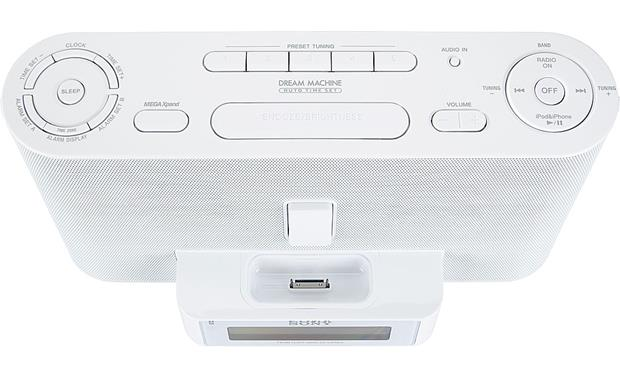 Sony ICF-C1IPMK2 White (top view)