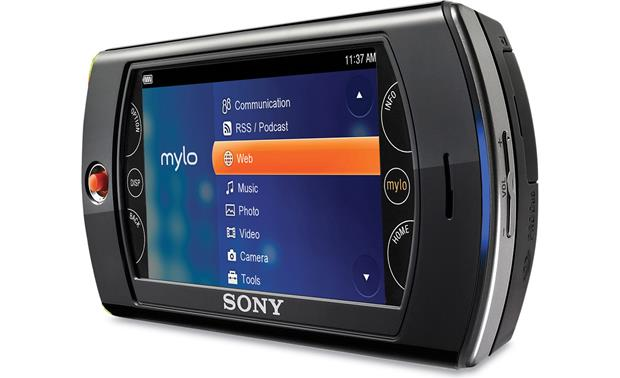 Sony mylo 2 (com-2) features and reviews pocketables.
