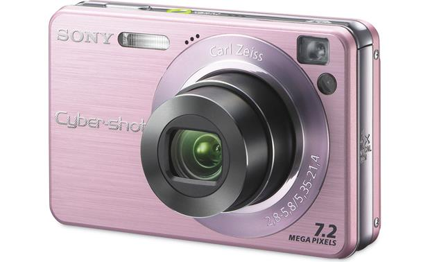 sony cyber shot dsc w120 pink 7 2 megapixel digital camera with 4x rh crutchfield com sony cyber shot dsc-w120 manual español sony cyber shot dsc w120 instruction manual