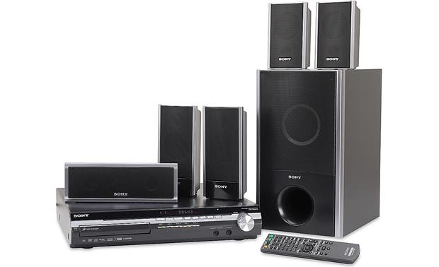 Sony Dav Hdx275 5 Disc Bravia Dvd Home Theater System With Ipod Dock And Dvd Upconversion At Crutchfield