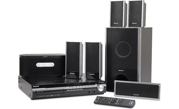 7ab673ca392 Sony DAV-HDX277WC 5-disc BRAVIA® DVD home theater system with iPod ...