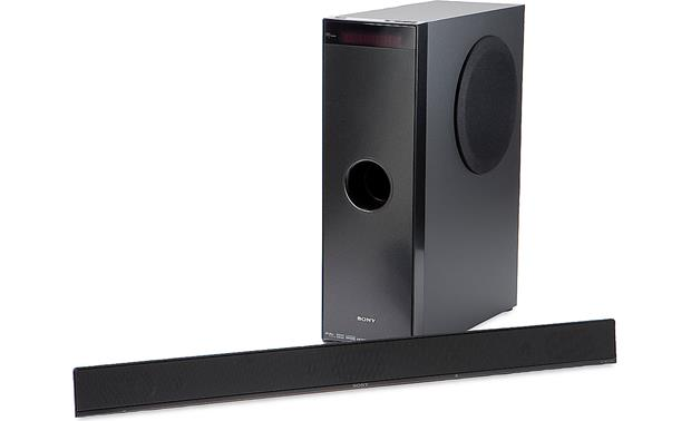 sony ht ct100 powered home theater sound bar system with separate rh crutchfield com IMAX Home Theater Theater Sound System Home