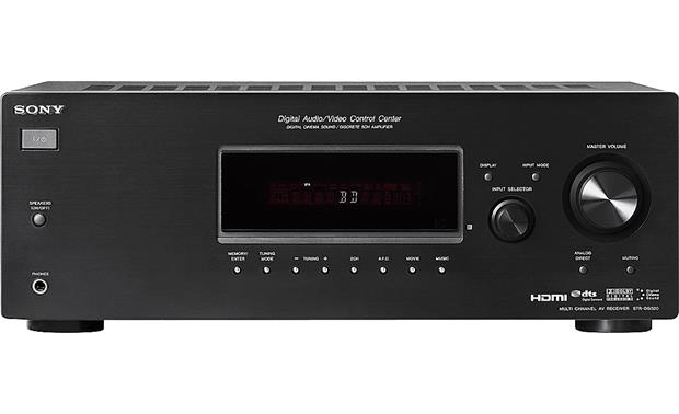 sony str dg520 home theater receiver with hdmi switching at rh crutchfield com sony multi channel av receiver str-dg520 manual sony av receiver str-dh520 manual