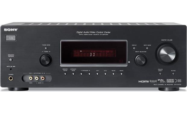 Sony str dh720 7. 1 channel 105 watt receiver | ebay.
