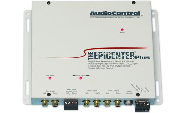 The Epicenter® Plus by AudioControl White