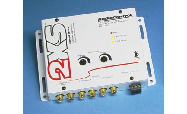 AudioControl 2XS White