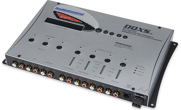 Car Audio Equalizer: AudioControl DQXS (Silver) 6-channel Digital Equalizer