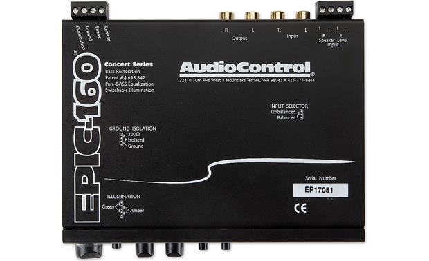 AudioControl EPIC-160 Front