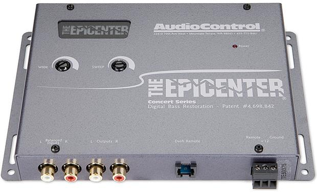 x161EPiCEG F 1 the epicenter� by audiocontrol (gray) bass processor at audiocontrol epicenter wiring diagrams at readyjetset.co