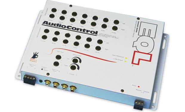 AudioControl EQL White