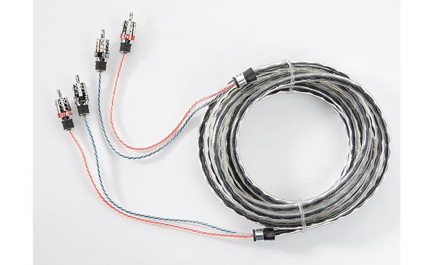 StreetWires ZeroNoise® 9 Series 2-channel Patch Cables Front