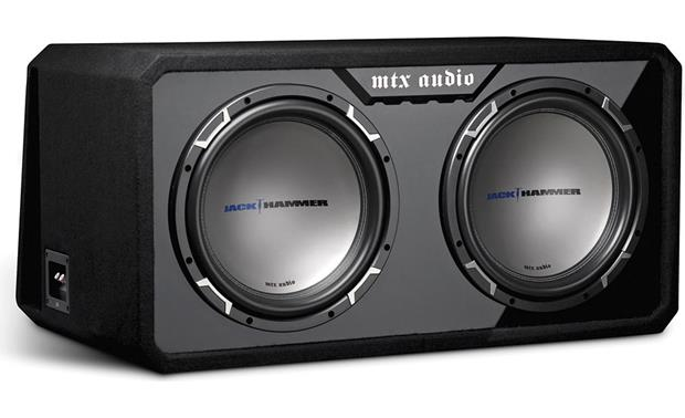 """MTX Jack Hammer Dual 12/"""" Subwoofers with Jack Hammer Box JH5512X2D"""