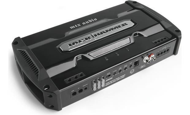 mtx jackhammer jh600 mono subwoofer amplifier 600 watts rms x 1 mtx jackhammer jh600 front