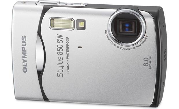 olympus stylus 850 sw silver waterproof 8 megapixel digital camera rh crutchfield com Olympus Stylus Zoom 140 Olympus Stylus TG-830