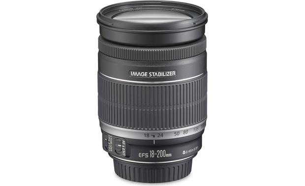 Canon EF-S 18-200mm f/3.5-5.6 IS Lens Front