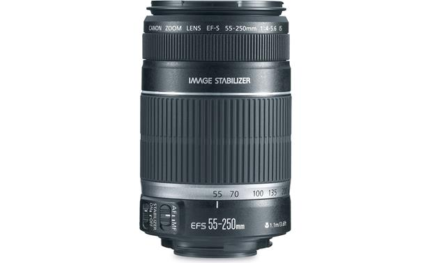 Canon EF-S 55-250mm IS Lens Front