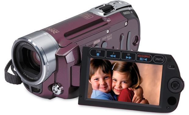 canon fs100 garnet wine sd memory card camcorder at crutchfield com rh crutchfield com Canon FS200 Manual Canon FS200 Manual