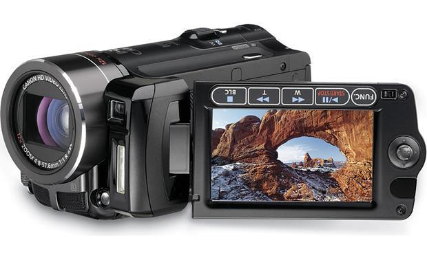 canon vixia hf10 16gb hd flash memory camcorder features specs rh crutchfield com Review Canon Vixia Review Canon Vixia