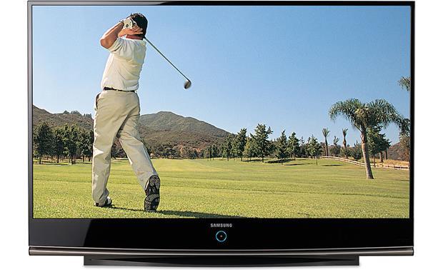 samsung hl67a750 67 1080p rear projection dlp hdtv with led rh crutchfield com Samsung HL67A750 User Manual Samsung 67 Inch TV