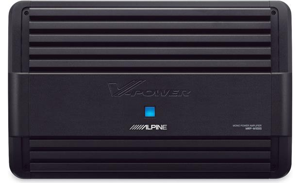 x500MRP1000 f alpine mrp m1000 mono subwoofer amplifier 1,000 watts rms x 1 at 2 Used Alpine PDX 1 1000 at fashall.co