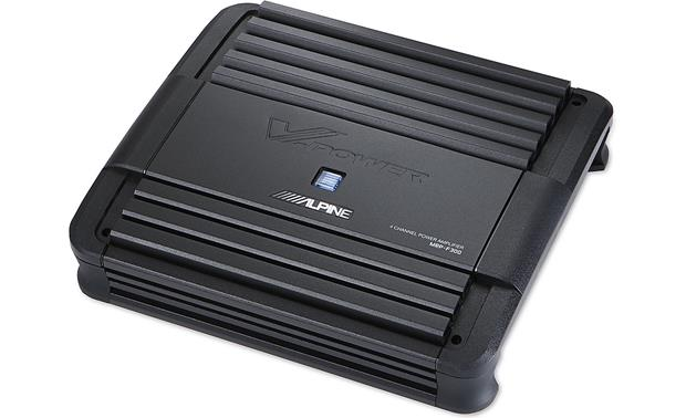 x500MRPF300 f 1 alpine mrp f300 v power series 4 channel car amplifier 50 watts  at mifinder.co