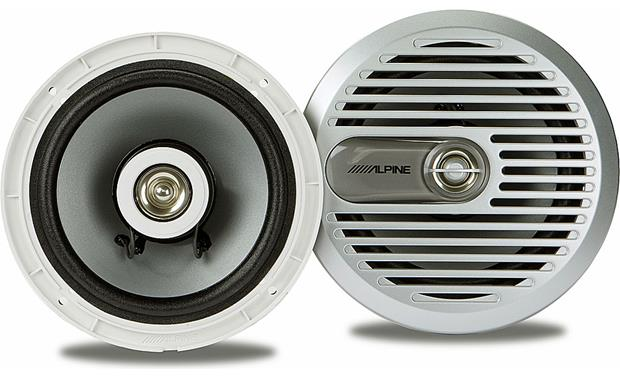 Alpine SPS-M600 Polymica woofer with coated cloth surround
