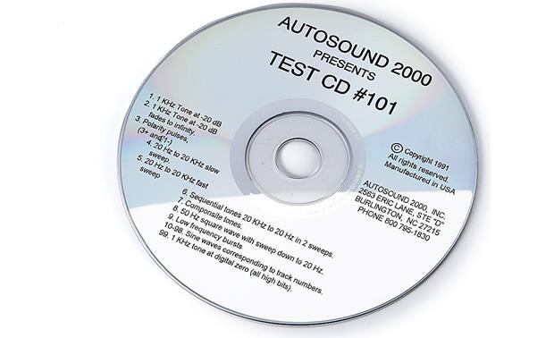 Autosound 2000 Disc One Front