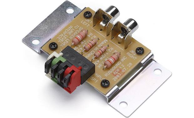 russound adp 1 2 speaker level to line level adapter at. Black Bedroom Furniture Sets. Home Design Ideas