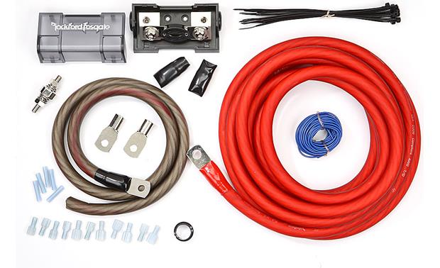 Amazing Rockford Fosgate Rfk1 1 0 Gauge Amplifier Power Wiring Kit At Wiring Digital Resources Cettecompassionincorg