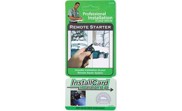 InstallCard: Remote Start Front