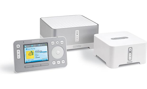 sonos bu 150 bundle wireless multi room music system with 1 rh crutchfield com Sonos ZonePlayer ZP100 Sonos Connect