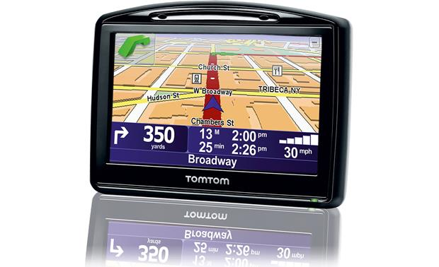 TomTom GO 930 Portable navigator with Bluetooth® at Crutchfield.com