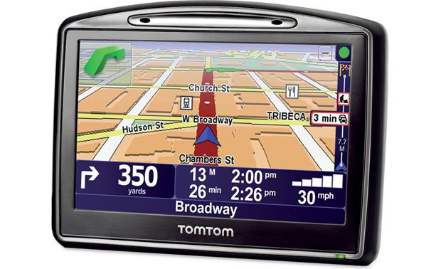 TomTom GO 930T Portable navigator with Bluetooth® at ...