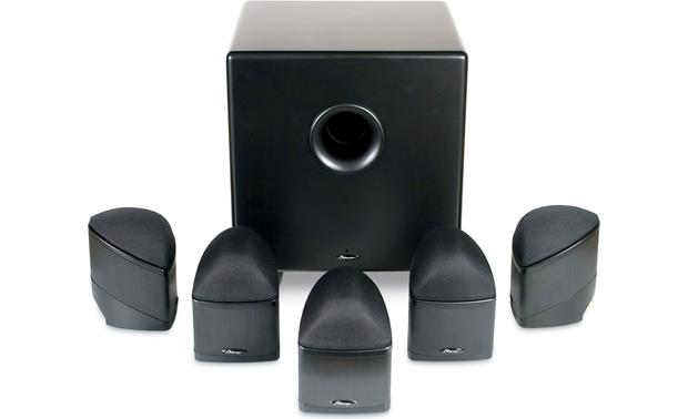Mirage Nanosat® 5.1 Compact Home Theater Speaker System Front
