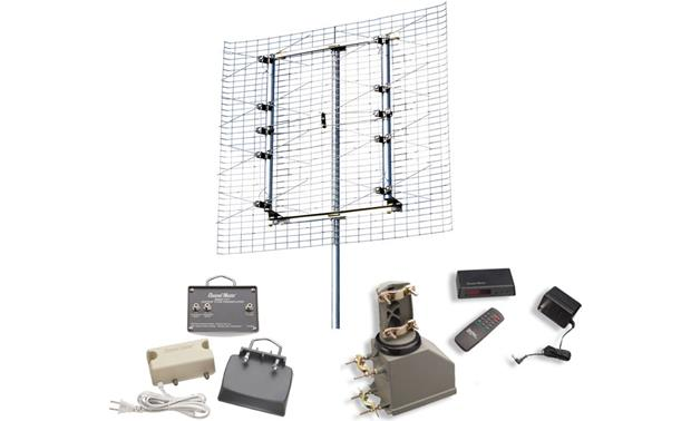 Long-range TV Antenna Package Front