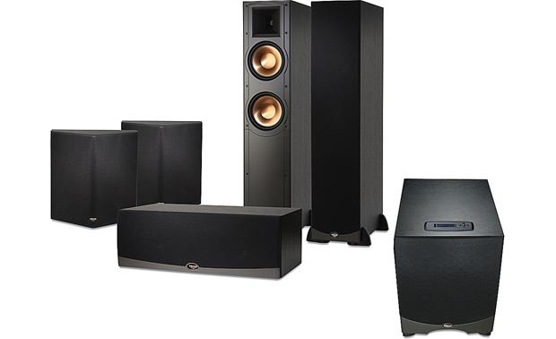 klipsch rf 82 reference series speaker package two rf 82 towers rc 62 center two rs 62. Black Bedroom Furniture Sets. Home Design Ideas