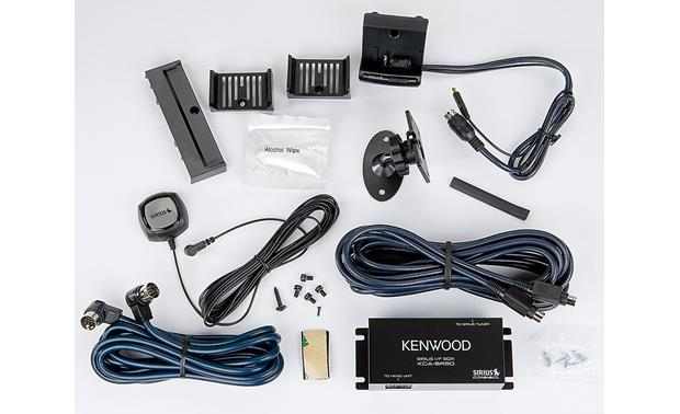 SIRIUS Dock-and-Play Package for Kenwood Front