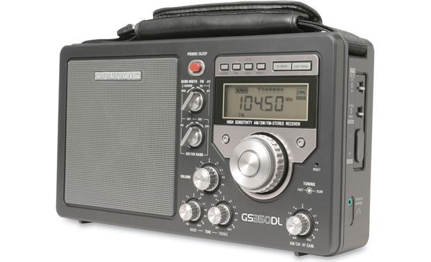 Grundig GS350DL Portable AM/FM/shortwave radio at Crutchfield